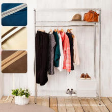 3 Tiers Adjustable Chrome Metal Closet Shelf Rack