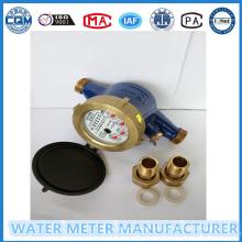 Todos los medidores de flujo de agua de latón contra la roya
