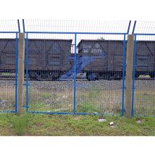 Valla de malla de alambre ferroviario revestido de PVC