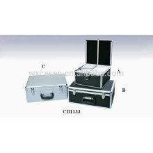 vente chaude 300 & 450 disques CD, boîtier CD aluminium