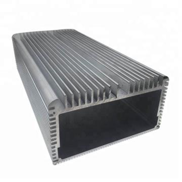 El precio más barato anodizado disipador de calor de aluminio extruido