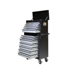 Rolling Tool Trolley with 16 Drawers
