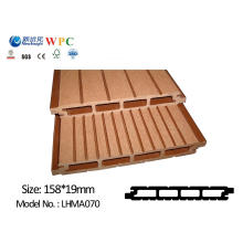 WPC Wall Panel with SGS CE Fsc ISO Wall Covering Cladding Wood Plastic Composite Waterproof Wall Panel for Outdoor Use Lhma070
