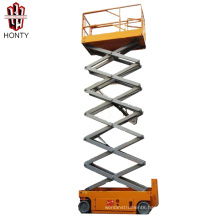 8 m self-propelled automotive electric mini scissor lift from Chinese factory