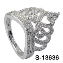 Новые модели Серебряное кольцо ювелирных изделий 925 (S-13636)
