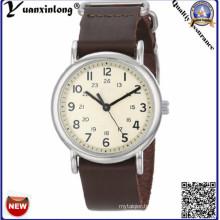 Yxl-121 New Design Charming Men Ladies Watch Popular Fashion Genuine Leather Wrist Watch Men′s Factory