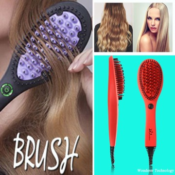 Fashion Simple and Fast Hair Straightener Brush