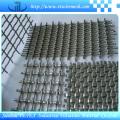 Rede de arame quadrada frisada da malha para a construção