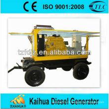 50kva Powered by Yuchai trailer type diesel generator sets