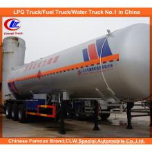 Heavy Duty Asme Tri-Axle LPG Tank Truck Trailer