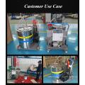 Venda direta da fábrica de óleo lubrificante pode máquina de enchimento de bebidas para a máquina de enchimento de vinagre de cerveja de leite