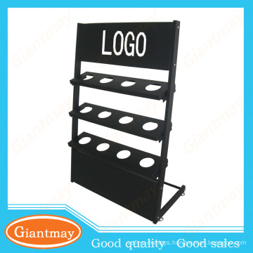 metal stand for floor drain display