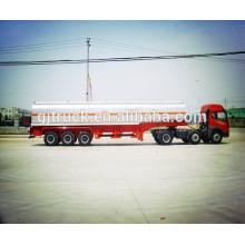 Remolque del tanque líquido químico de 3 ejes / remolque del tanque de combustible / remolque del tanque de aceite / remolque del tanque químico / remolque del tanque ácido / remolque del camión
