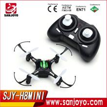 JJRC H8 Mini modo sin cabeza 2.4G 4CH 6 ejes RC Quadcopter RTF Modo2-negro SJY-H8MINI