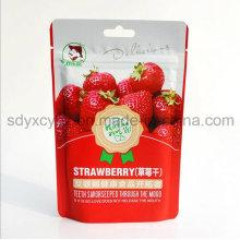 2016 neue Tasche mit SGS genehmigt und Kunststoff Promotion Essen Zipper Bag für getrocknete Früchte