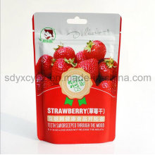 2016 New Bag with SGS Approved and Plastic Promotion Food Zipper Bag for Dried Fruit