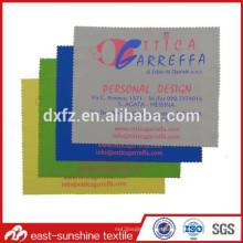 Silk Sreen Logo Bedruckte Reinigung Microfaser Brille Tuch