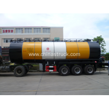 3 axle 30m3 heating preservation tank semi-trailer