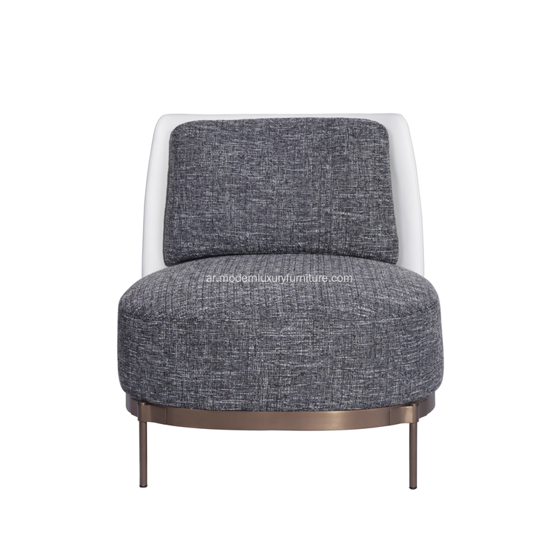 Minotti Tape Lounge Chair مع مسند ذراع