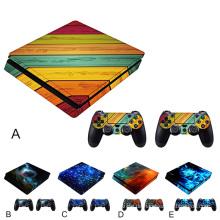 Spiel Aufkleber Set Controller Host Griff Aufkleber Cover Skin Zubehör für Sony PlayStation PS4 Play Station PS 4 Slim