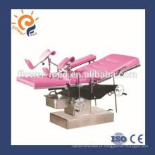 China manual de operação manual tabela de operação ginecológica hidráulica