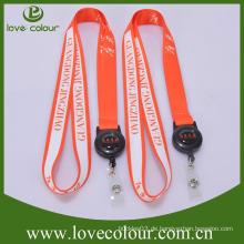 Lovecolour benutzerdefinierte Mode Lanyards und Abzeichen Inhaber