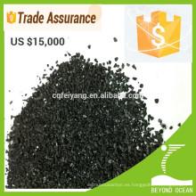 precio barato grano activado de forma de grano para la decoloración