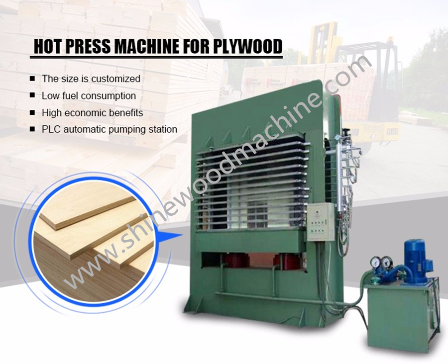 Plywood Hot Press Machine