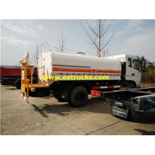 8000L Dongfeng Used Water Tank Trucks
