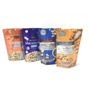 Cereales reutilizables impresos personalizados Bolsa de embalaje