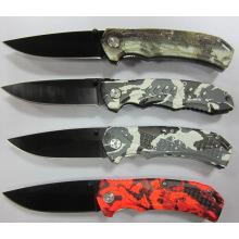 Cuchillo que acampa del acero inoxidable (SE-106)