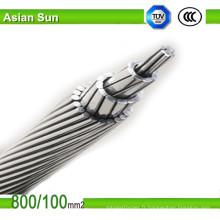 Bare tout en alliage d'aluminium câble conducteur AAAC