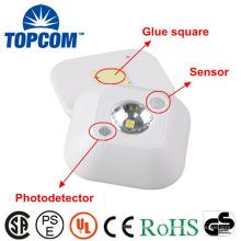 Plástico de Ningbo 1 sensor de movimento do diodo emissor de luz da luz da noite do armário