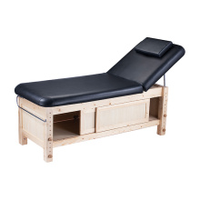 Table de massage en bois lit