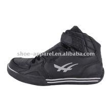 2013 новых прибытия высокого Топ черный мужская баскетбольная обувь с пряжки