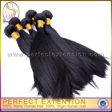 Высшего класса дешевых природных 100% девственница Перу прямые волосы
