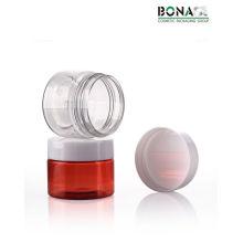 20g Meilleur vendeur Pet Plastic Jar Pot en plastique contenant de la crème 2017