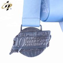 Medalha de prémio promocional de recordação personalizada em metal