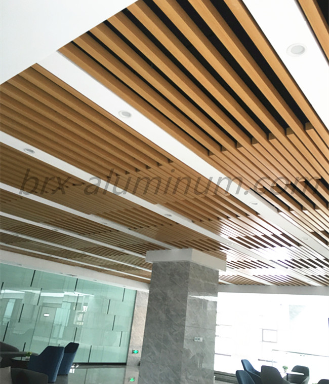 Wood Grain Aluminum Ceiling
