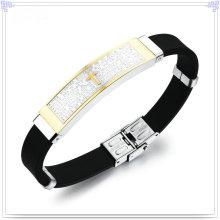 Handgelenkband Gummi Armband Silikon Armband (LB225)