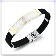 Wrist Band Rubber Bracelet Silicone Bracelet (LB225)
