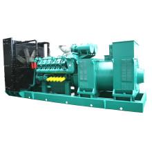 Ensemble de générateur diesel moyenne tension de 1000kw 1250kVA avec alternateur Marathon