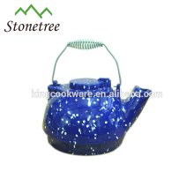 Various colors for chinese cast iron tea kettle/pot