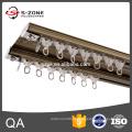 Fábrica feita trilha de eletroforese cortina de qualidade com sistema de polia
