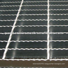 Hot Dipped Galvanized Flooring Steel Grating Manufacturing