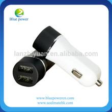 CE ROHS Certificat d'approbation Chargeur de voiture USB haute qualité avec double port