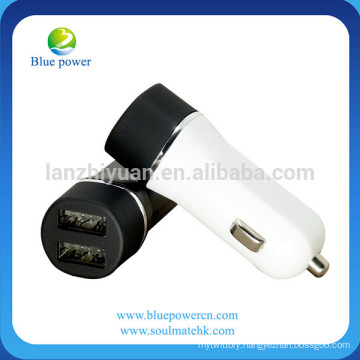 Guangzhou car charger factory wholesale 2.4A 4.8 A dual port mobile phone car charger