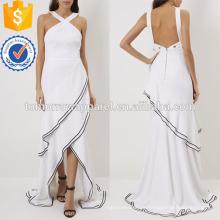 Белый крест вечернее ремень платье Производство Оптовая продажа женской одежды (TA4069D)