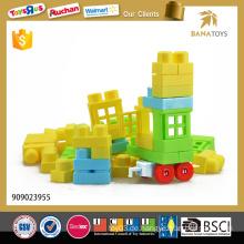48pcs pädagogische Plastikblöcke, die Spielwaren für Kinder aufbauen