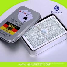 Engraçado novo design quente vendendo barato personalizado cartões de poker plástico